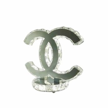 Chanel bordslampa vit